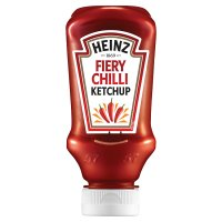 Heinz fiery chilli tomato ketchup
