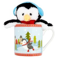 Waitrose Christmas Plush in a Mug