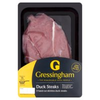 Gressingham 2 Skinless Duck Steaks