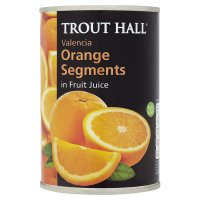 Trout Hall orange segments in fruit juice