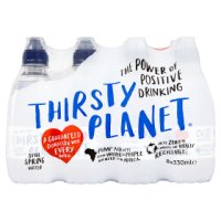 Thirsty Planet spring water