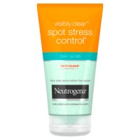 visibly clear spot stress daily scrub