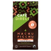 Café Direct Organic Fairtrade Machu Picchu coffee beans