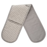 Waitrose Cooking Grey Double Oven Glove