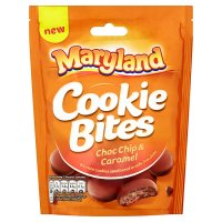 Maryland Cookie Bites Choc Chip & Caramel