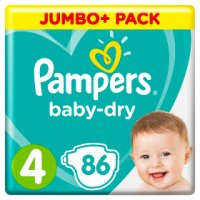 Pampers Baby-Dry 4 8-16kg