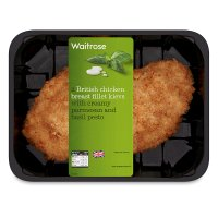 Waitrose 2 British creamy pesto chicken kievs
