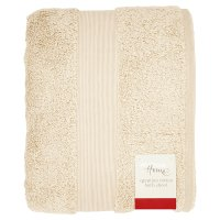 Waitrose Home Egyptian Cotton Bath Sheet Fawn