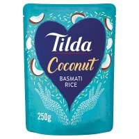 Tilda steamed coconut basmati rice