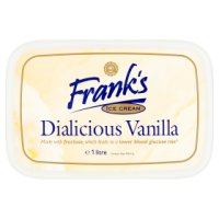 Franks Diabetic vanilla Ice Cream