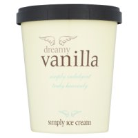 Simply vanilla ice cream