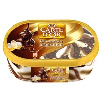 Carte D'Or chocolate ice cream dessert