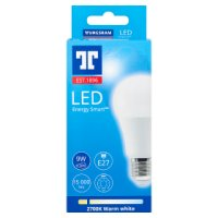 GE LED energy smart 810 lumen round 11W E27 ES