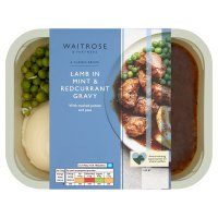 Waitrose British Lamb with Mint & Redcurrant