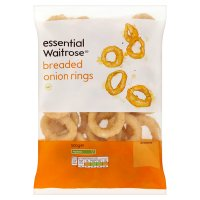 essential Waitrose breaded onion rings