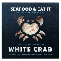 Seafood & Eat It handpicked white Cornish crab