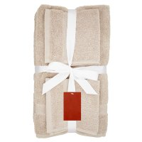 Waitrose Home 6 Piece Towel Bale Pebble
