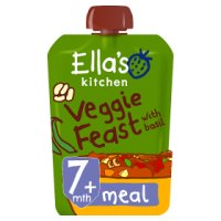 Ella's Kitchen Organic hugely hearty four bean feast with big flavour - stage 2 baby food