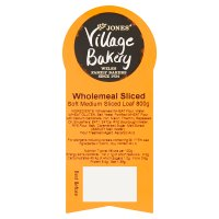 Village Bakery 100% wholemeal sliced