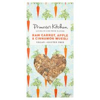 Primrose's Kitchen raw carrot, apple & cinnamon muesli