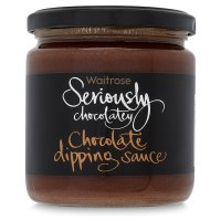 Waitrose Seriously Chocolatey Chocolate Dipping Sauce