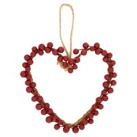 Waitrose Christmas Red Berries Heart