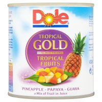 Dole tropical gold tropical fruits