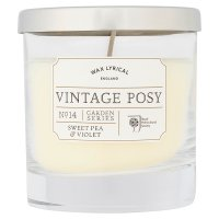 Wax Lyrical sweet pea & violet candle