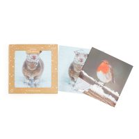 Waitrose Christmas Sheep/Robin Cards