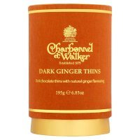 Charbennel & Walker Dark Ginger Thins