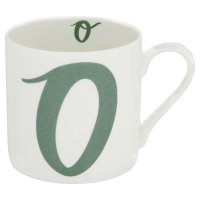 Waitrose 'O' Bone China Alphabet Mug