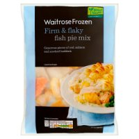 Waitrose Frozen fish pie mix
