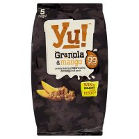 Yu! granola & mango fruit pieces