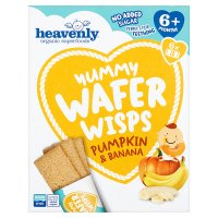 Heavenly Pumpkin & Banana Wafer Wisps