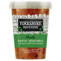 Yorkshire Provender summer garden with pancetta & avocado