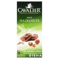 Cavalier Milk Hazelnuts with Stevia