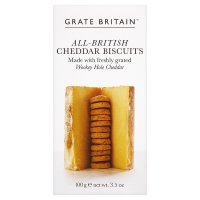 Grate Britain cheddar biscuits