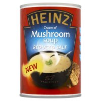 Heinz reduced salt soup mushroom
