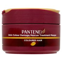 Pantene Pro V 2 Minute Colour Damage Rescue Treatment Coloured Hair Masque