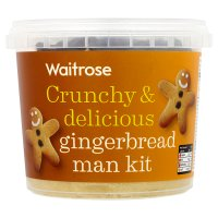 Waitrose Gingerbread Man Kit