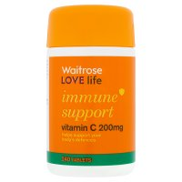 immune support vitamin C 200mg