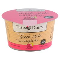 Tims Dairy Greek style yogurt with raspberry