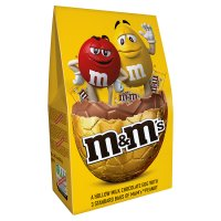 M&M's peanut large luxury egg & 4 M&M's peanut singles