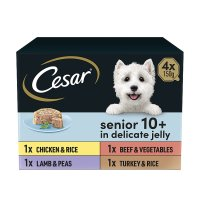 Cesar senior 10+ varieties in jelly