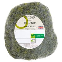 Waitrose Organic broccoli