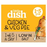 Little Dish 1 yr+ Chicken and Butternut Squash Pie