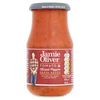 Jamie Oliver Tomato & Mixed Pepper Pasta Sauce