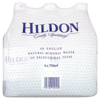 Hildon mineral water gently sparkling