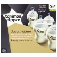 Tommee Tippee closer to nature 0m+ feeding bottles