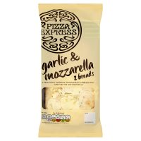 Pizza Express Garlic Bread with Mozzarella